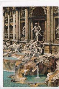 ROMA, Fontana di Trevi, Fountain of Trevi, unused Postcard