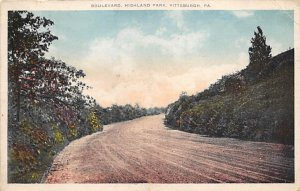 Boulevard, Highland Park Pittsburgh Pennsylvania, PA