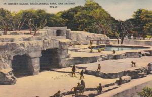 Texas San Antonio Monkey Island Brackenridge Park