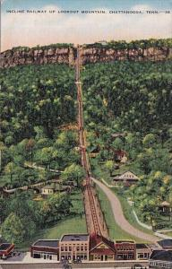 Incline Railway Up Lookout Mountain Chattanooga Tennesse 1943