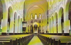 Canada Cathedral Of The Immaculate Conception Interior Edmunston New Brunswick