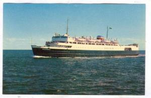 Ferry boat M.V.S. ABEGWEIT , Borden , Prince Edward Island, 40-60s