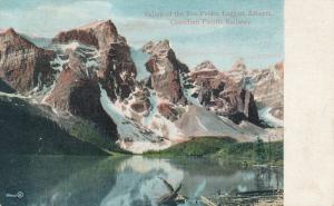 Lake in Valley of Ten Peaks - Laggan AB, Alberta, Canada - pm 1907 - DB