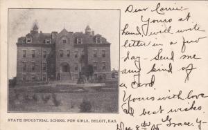 BELOIT , Kansas, PU-1905 ; State Industrial school for girls