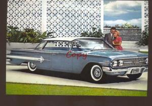 1960 CHEVROLET CAR DEALER ADVERTISING POSTCARD '60 CHEVY
