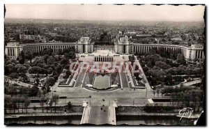 Old Postcard Paris And Its Wonders General view of the Palais de Chaillot