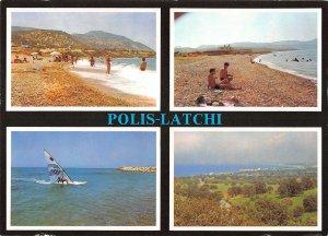 B108872 Cyprus Latchi Polis Plage Beach Promenade Surfer