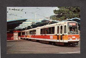 CA Metro Station Trolley Car West Portal Train San Francisco California Postcard