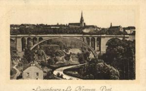 CPA Luxembourg Le Nouveau Pont (30772)