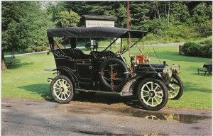 1981 postcard, 1909 Packard Model 19 Touring Car, Stowe, Vermont