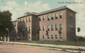 PADUCAH , Kentucky, 1911 ; Riverside Hospital