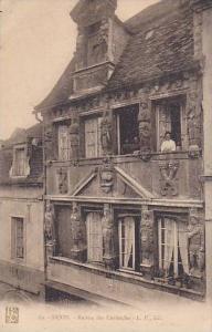 Maison Des Cariatides, Dijon (Côte-d´Or), France, 1900-1910s