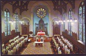 P1488 vintage unused postcard mt. carmel for education of priest ontario canada