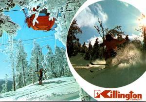 Vermont Killington Ski Resort Ski Lift
