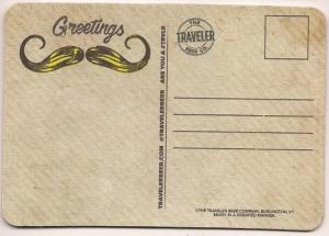 Traveler Beer Co. - Post Card/Coaster - Unused(Not Posted)