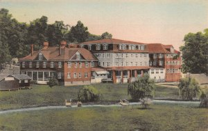 LPS88 Harrisonburg Virginia Massanetta Springs Hotel  Hand Colored Albertype