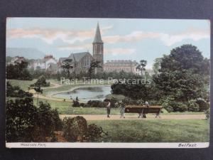 Northern Ireland ANTRIM - Belfast Woodvale Park c1905 by W.Lawrence