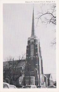 North Carolina Raleigh Edenton Street Methodist Church
