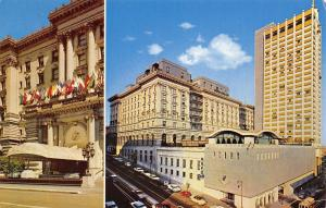 San Francisco California~Fairmont Hotel~1960 Postcard