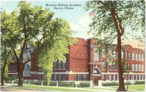 Marmion Military Academy Aurora Illinois IL, Used Linen