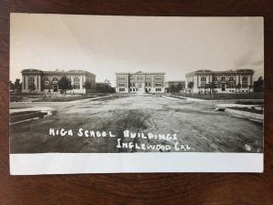 RPPC 1910s High School Buildings, Inglewood, California Z3