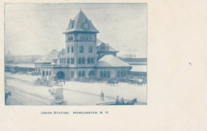 MANCHESER, New Hampshire, PMC 1898-1907; Union Station