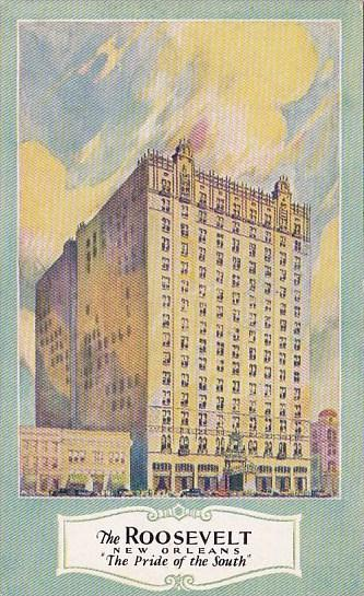Louisiana New Orleans The Roosevelt Hotel