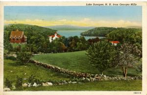 NH - Lake Sunapee. The View from Georges Mills