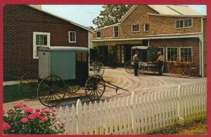 HEART OF AMISHLAND, CARRIAGE MAKER , PA (PC179) SEE SCAN