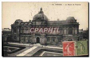Old Postcard The Museum of Amiens Picardie