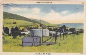 Pumping Equipment, Brandford Oil Fields, BRADFORD, Pennsylvania, PU-1961