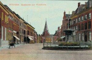 Netherlands Zutphen Zaadmarkt met Watertoren 03.03