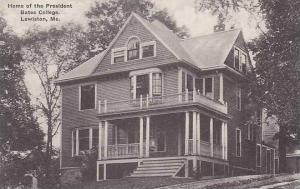Maine Lewiston Roger Willams Hall Bates College Albertype