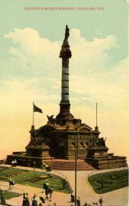 OH - Cleveland. Soldiers' and Sailors' Monument
