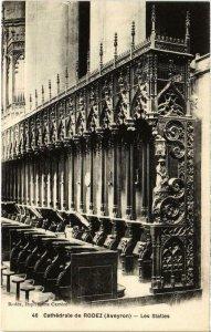 CPA Cathédrale de RODEZ - Les Stalles (109658)