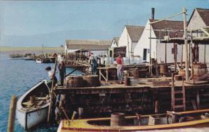 PRINCE EDWARD ISLAND, Canada, PU-1962; Rustico, Harbour Scene