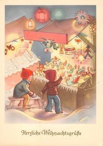 Christmas Post Card Unused