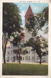 New York Albany City Hall 1926