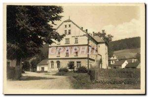 Postcard Old Karlovice ve Slezsku Zotavovna Roh Slezan
