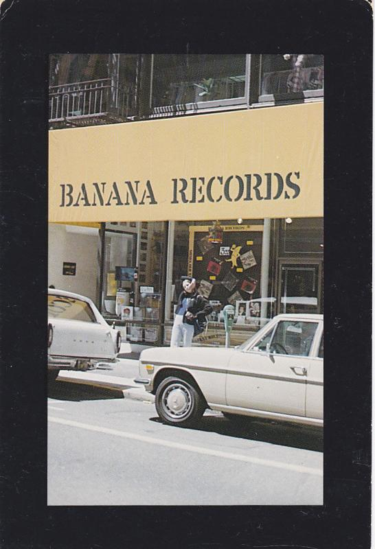 BANANA Records Storefront , VANCOUVER , B.C. , Canada , 60-80s