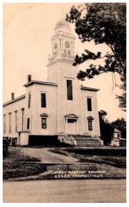 Connecticut Essex ,  First Baptist Church
