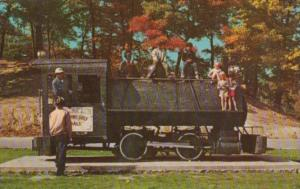 Steam Driven Dinkey At New River City Park Beckley West Virginia 1972