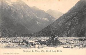 New Zealand West Coast Road, Crossing the Otira, Carriage horses