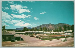 Flagstaff Arizona~Route 66~Del Webb's Hiway House~Motel~Neon Sign~50s Cars~1960s