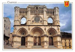 Spain Cuenca Catedral Cathedral Front View