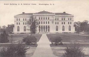 Washington DC Grant Building U S Soldiers Home Albertype