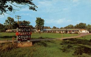 NY - Wilton. Tobey's Motor Court