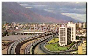 Venezuela- Caracas- & # 39El Pulpo & # 39- Old Postcard