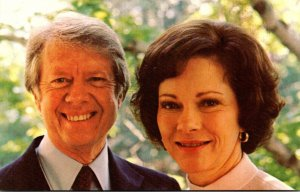 President Jimmy Carter and First Lady Rosalynn