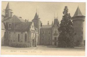 Busset , Allier , France. 00-10s Le Chateau